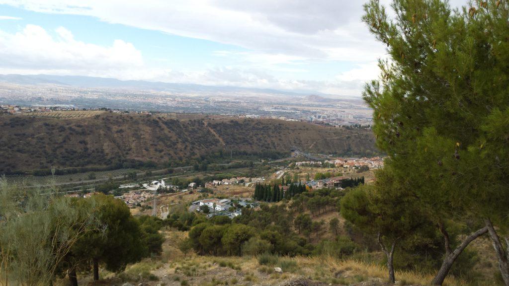 Vistas hacia la Lancha y el Serrallo