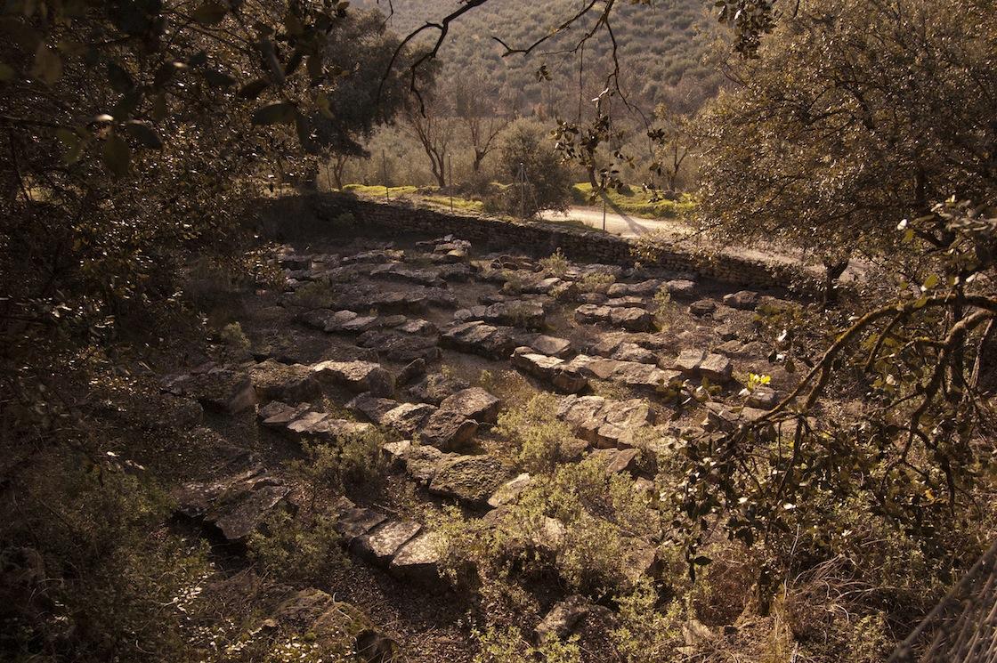 Peña de los Gitanos: Cementerio Tardo-romano