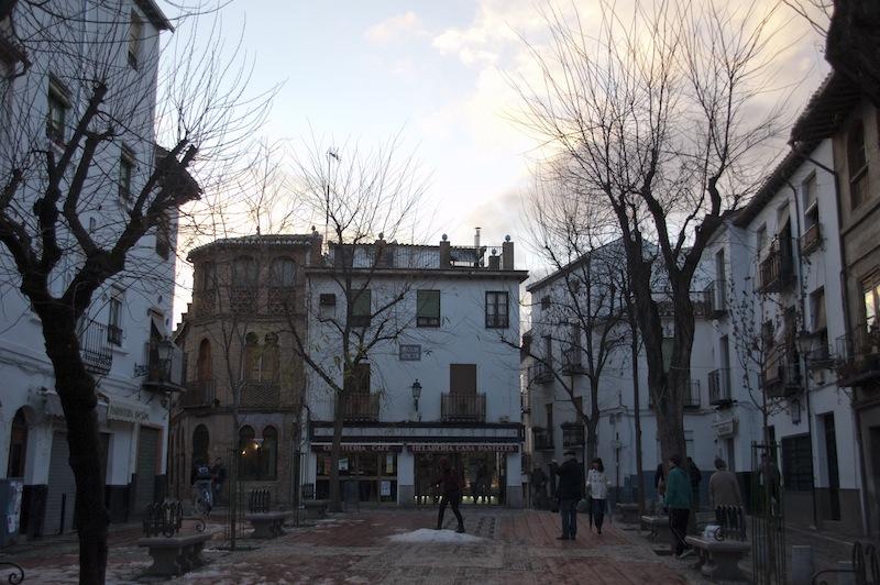 Albaycín: Plaza Larga