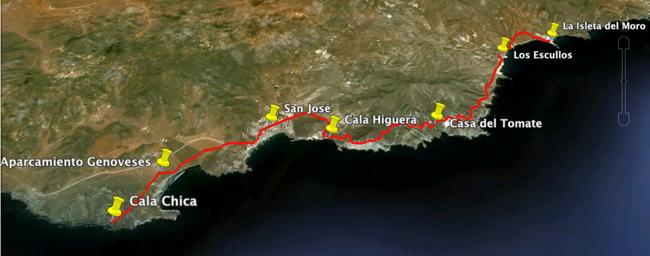 Etapa 2. Cala Chica - La Isleta