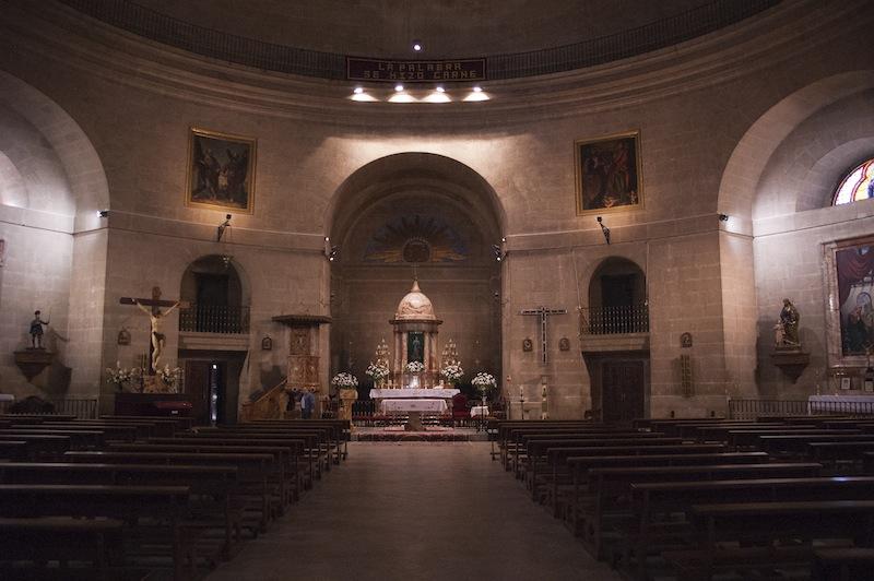 Interior de la Iglesia de la Encarnación