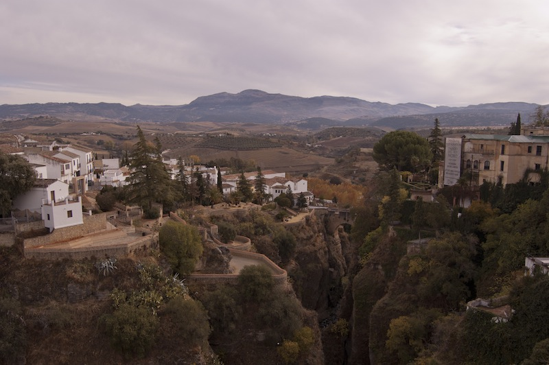 Río Guadalevín a su paso por Ronda