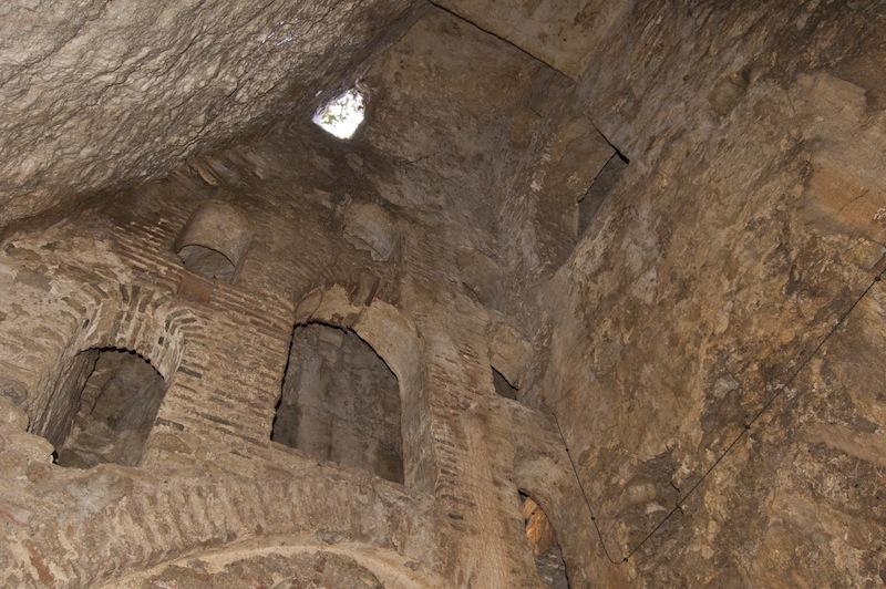 Interior de la Mina del Rey Moro